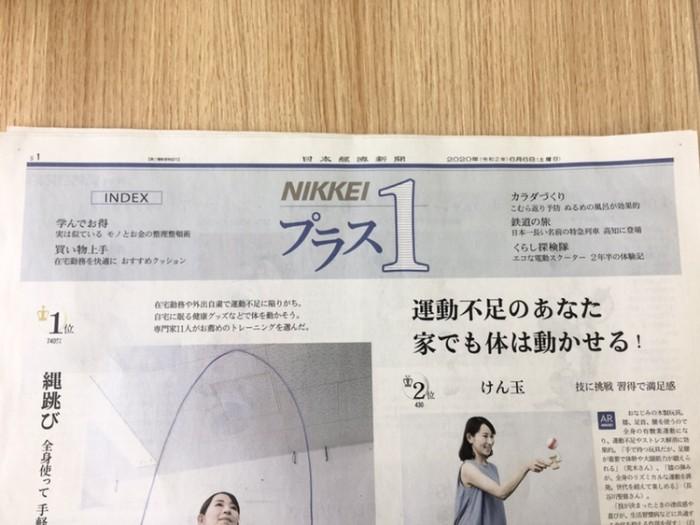 イスザブ 日経表紙